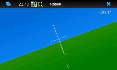 Attitude / Horizon for Nokia N900 / Maemo 5