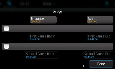 Qt Badge for Nokia N900 / Maemo 5
