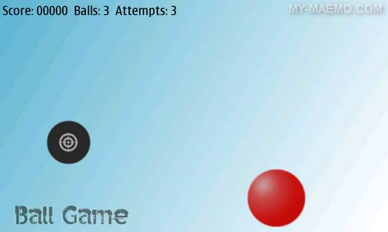 Ball Game for Nokia N900 / Maemo 5