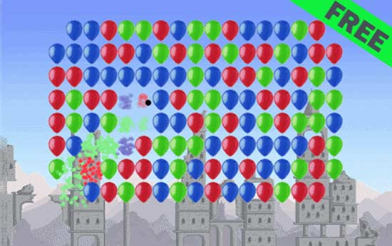 Balloon Popper for Nokia N900 / Maemo 5