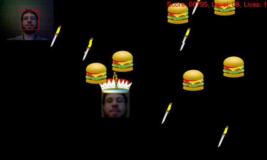 BurgerFace for Nokia N900 / Maemo 5