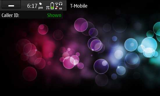 Caller ID State Switcher Widget for Nokia N900 / Maemo 5