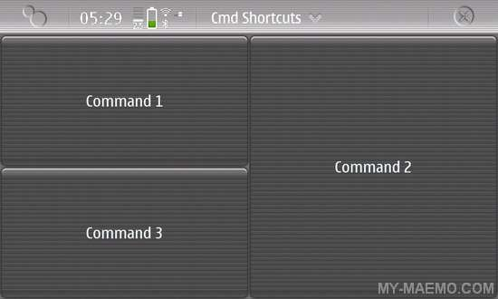 Cmd Shortcuts for Nokia N900 / Maemo 5