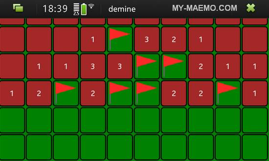 Demine for Nokia N900 / Maemo 5