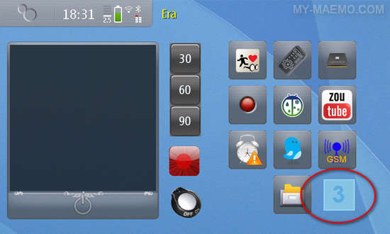 Desktop Switcher for Nokia N900 / Maemo 5