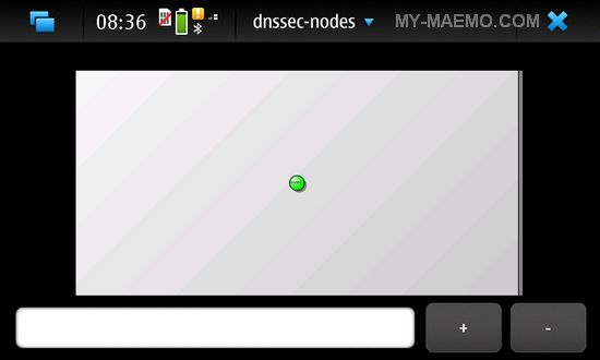 Dnssec-Nodes for Nokia N900 / Maemo 5