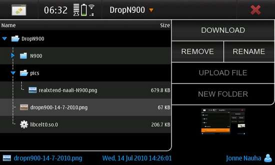DropN900 for Nokia N900 / Maemo 5