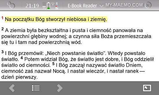 E-Book Reader for Nokia N900 / Maemo 5