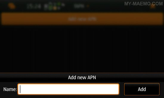 fAPN for Nokia N900 / Maemo 5