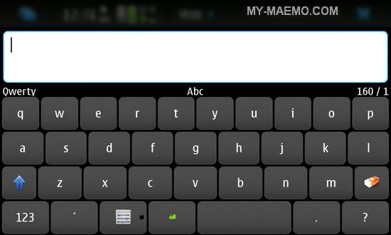 FastSMS for Nokia N900 / Maemo 5