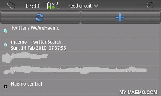 Feed Circuit for Nokia N900 / Maemo 5