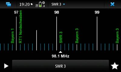 FM Radio Player for Nokia N900 / Maemo 5