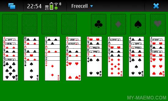 Freecell 4 Maemo for Nokia N900 / Maemo 5