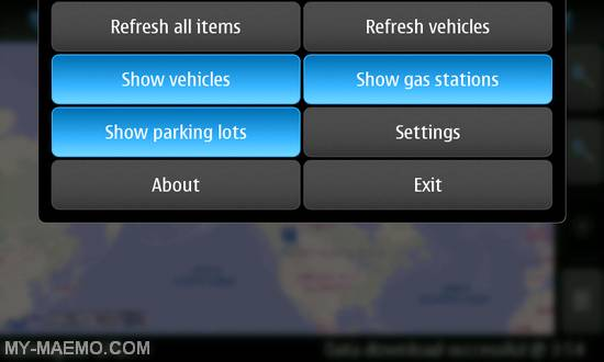 Get Me Wheels for Nokia N900 / Maemo 5