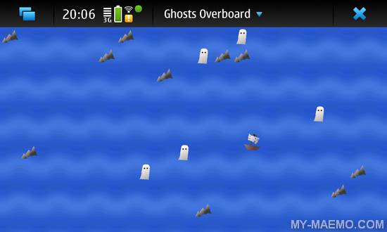 Ghosts Overboard for Nokia N900 / Maemo 5