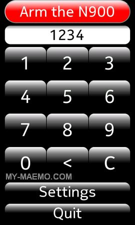 Handsoff for Nokia N900 / Maemo 5