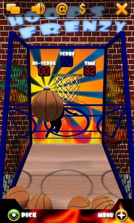 HoopsFrenzy for Nokia N900 / Maemo 5