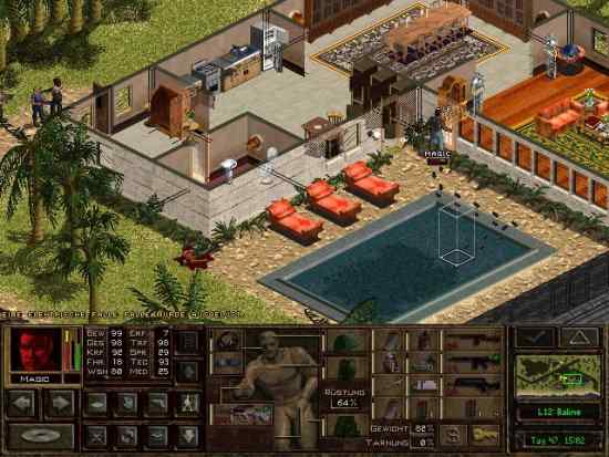 Jagged Alliance 2 for Nokia N900 / Maemo 5