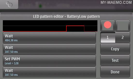Low Battery LED for Nokia N900 / Maemo 5