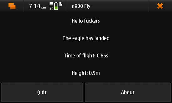 N900 Fly for Nokia N900 / Maemo 5