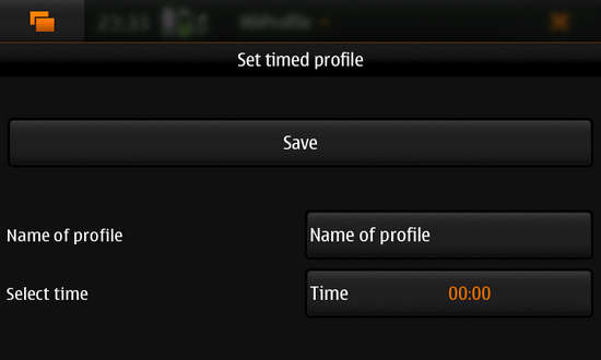 N9Profile for Nokia N900 / Maemo 5