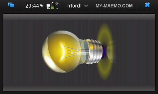 nTorch for Nokia N900 / Maemo 5