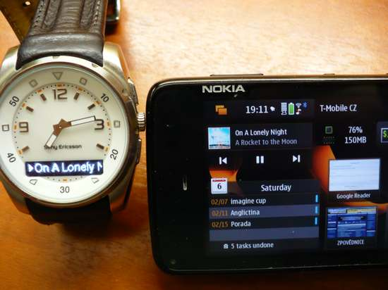 OpenWatch for Nokia N900 / Maemo 5