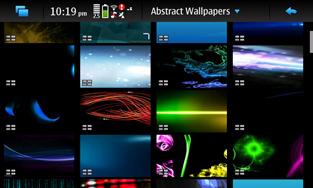 Prismic Wallpaper Manager for Nokia N900 / Maemo 5