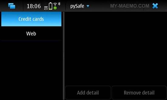 PySafe for Nokia N900 / Maemo 5