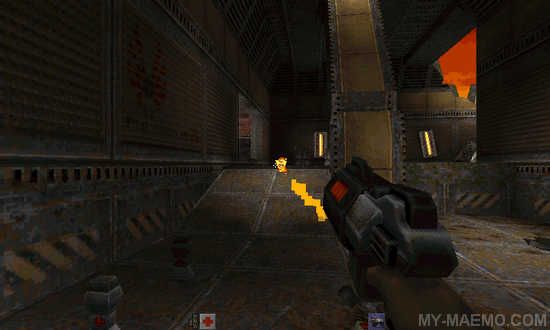 Quake 2 for Nokia N900 / Maemo 5