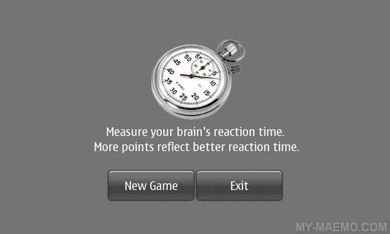 Reaction for Nokia N900 / Maemo 5