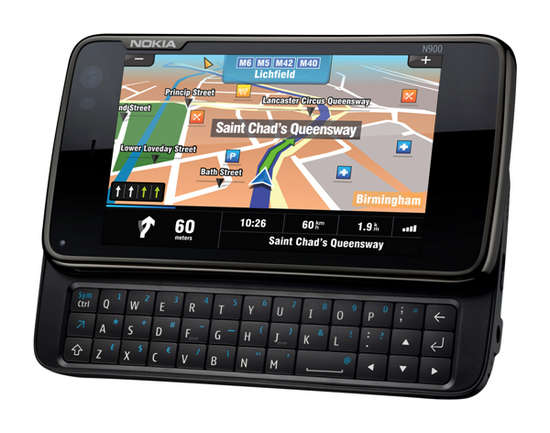 Sygic Mobile Maps for Nokia N900 / Maemo 5