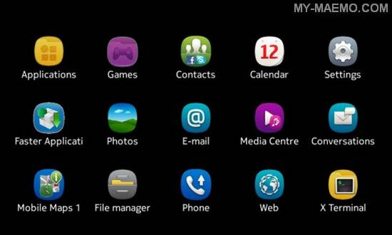 Symbian Anna Icons for Nokia N900 / Maemo 5