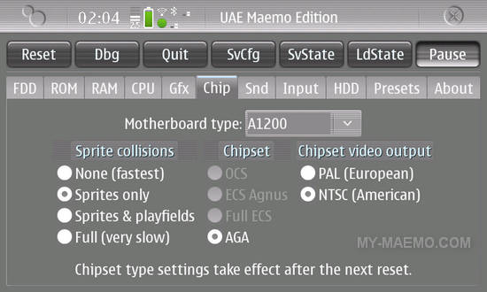 UAE for Nokia N900 / Maemo 5