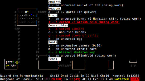 UnNethack for Nokia N900 / Maemo 5