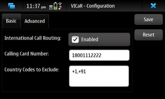 VICaR for Nokia N900 / Maemo 5