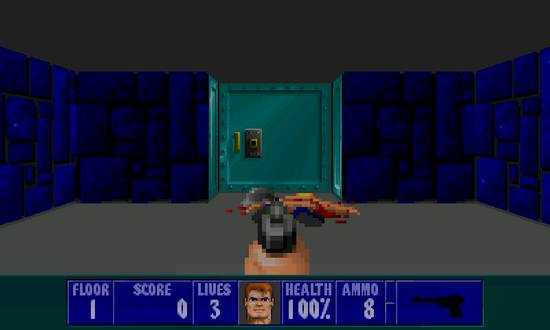 Wolfenstein 3D for Nokia N900 / Maemo 5