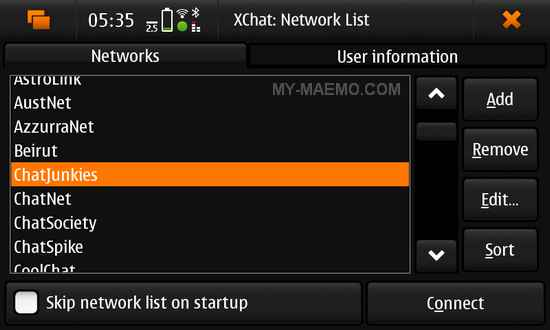 Xchat resume download
